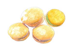 泡菓(ブッセ)