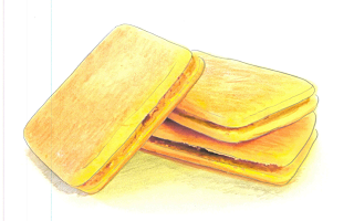 乳菓(バターサンド)