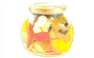 酢菜(ピクルス)